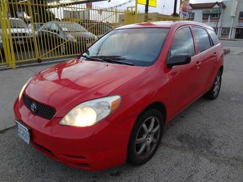 2004 Toyota Matrix for sale in North Hollywood, CA
