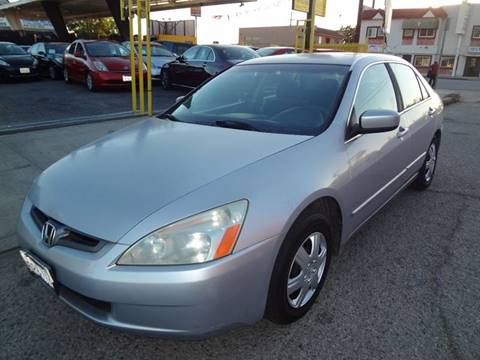 2005 Honda Accord for sale in North Hollywood, CA