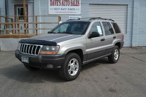 2001 Jeep Grand Cherokee for sale at Dave's Auto Sales in Winthrop MN