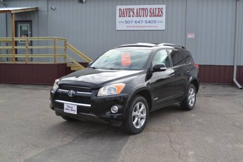 2010 Toyota RAV4 for sale at Dave's Auto Sales in Winthrop MN