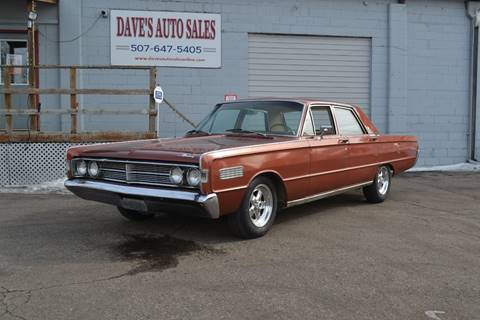 1966 Mercury Montclair for sale at Dave's Auto Sales in Winthrop MN