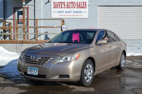 2009 Toyota Camry LE for sale at Dave's Auto Sales in Winthrop MN