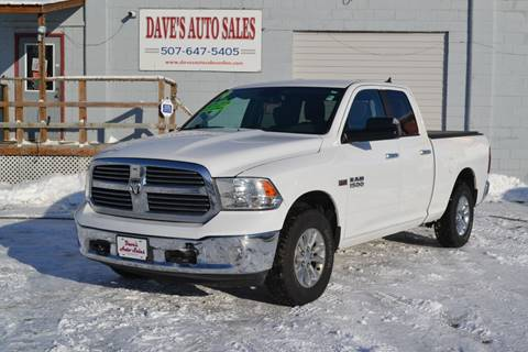 2014 RAM Ram Pickup 1500 Big Horn for sale at Dave's Auto Sales in Winthrop MN