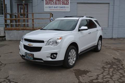 2011 Chevrolet Equinox for sale at Dave's Auto Sales in Winthrop MN