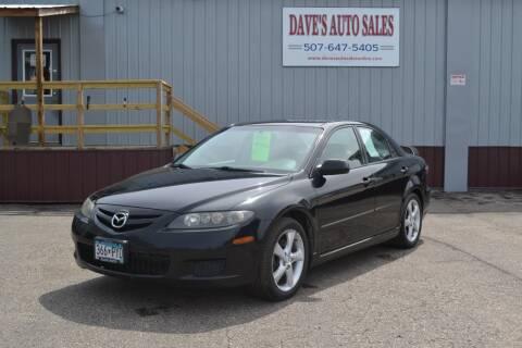 2008 Mazda MAZDA6 for sale at Dave's Auto Sales in Winthrop MN