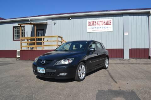 2008 Mazda MAZDA3 for sale at Dave's Auto Sales in Winthrop MN
