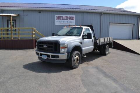 2008 Ford F-450 Super Duty for sale at Dave's Auto Sales in Winthrop MN