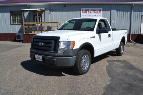 2010 Ford F-150 for sale at Dave's Auto Sales in Winthrop MN