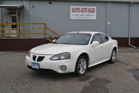 2005 Pontiac Grand Prix for sale at Dave's Auto Sales in Winthrop MN