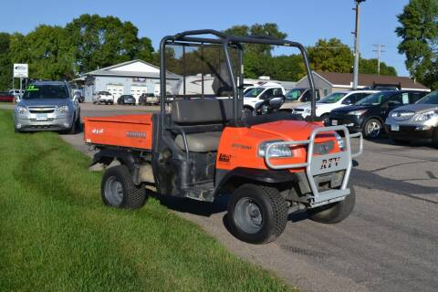 2005 Kubota RTV 900 for sale at Dave's Auto Sales in Winthrop MN