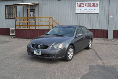 2006 Nissan Altima for sale at Dave's Auto Sales in Winthrop MN