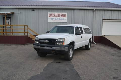 2007 Chevrolet Silverado 1500 Classic for sale at Dave's Auto Sales in Winthrop MN