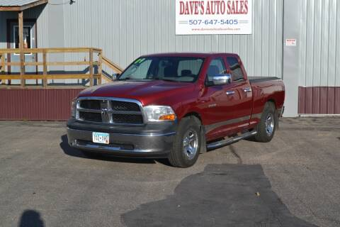 2009 Dodge Ram Pickup 1500 for sale at Dave's Auto Sales in Winthrop MN
