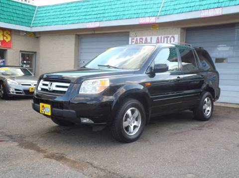 2006 Honda Pilot for sale at Faraj Auto Traders Inc. in Rutherford NJ