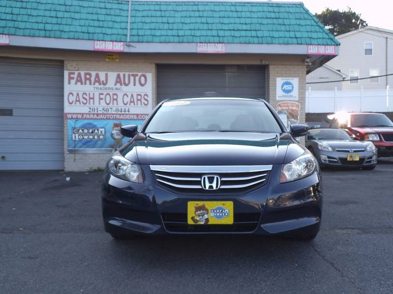 2012 Honda Accord for sale at Faraj Auto Traders Inc. in Rutherford NJ