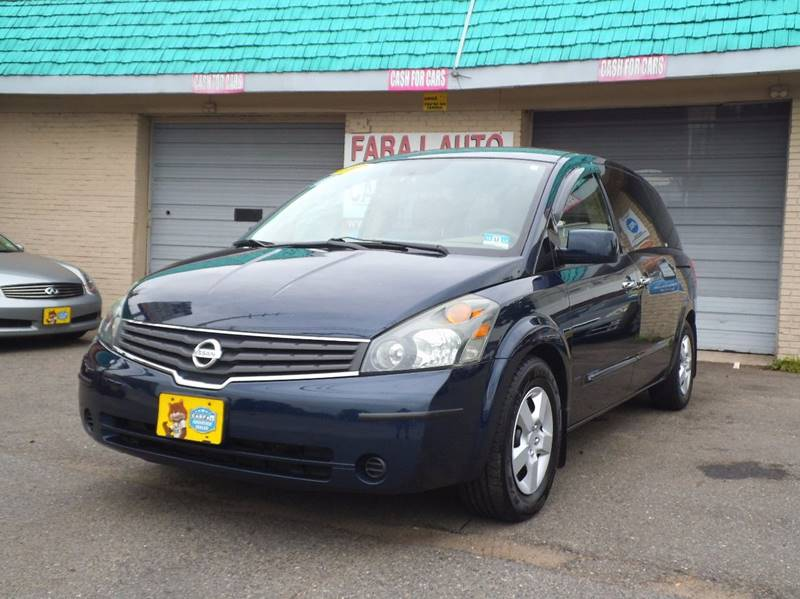 2007 Nissan Quest for sale at Faraj Auto Traders Inc. in Rutherford NJ