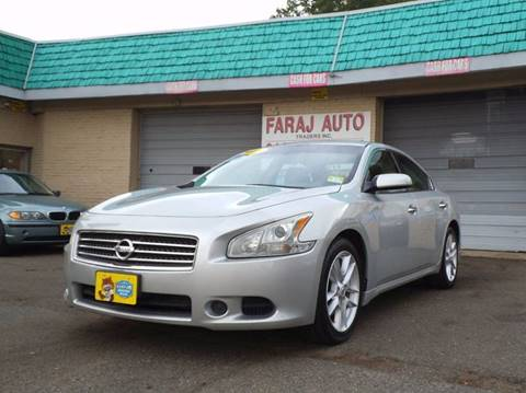 2009 Nissan Maxima for sale at Faraj Auto Traders Inc. in Rutherford NJ