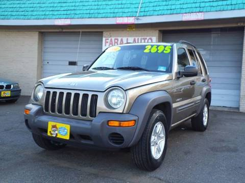 2004 Jeep Liberty for sale at Faraj Auto Traders Inc. in Rutherford NJ