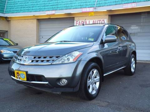 2007 Nissan Murano for sale at Faraj Auto Traders Inc. in Rutherford NJ