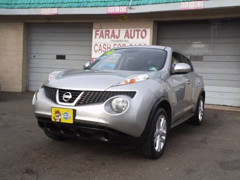 2012 Nissan JUKE for sale at Faraj Auto Traders Inc. in Rutherford NJ
