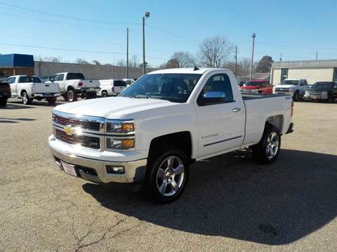 2014 Chevrolet Silverado 1500 for sale at Young's Motor Company Inc. in Benson NC