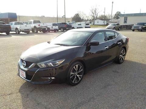 2016 Nissan Maxima for sale at Young's Motor Company Inc. in Benson NC