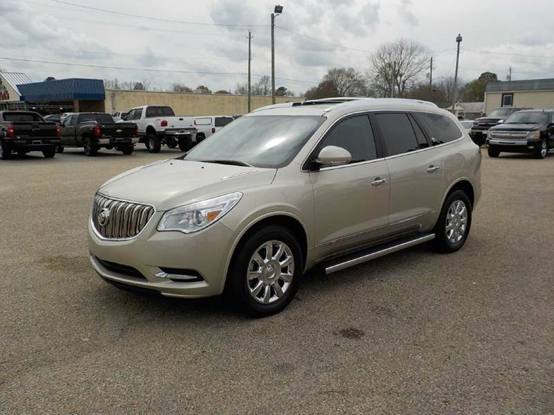 auto buick enclave trend york show new motor front news first look