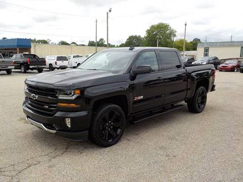 2017 Chevrolet Silverado 1500 for sale at Young's Motor Company Inc. in Benson NC
