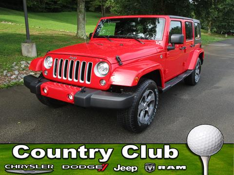 2017 Jeep Wrangler Unlimited for sale in Clarksburg, WV