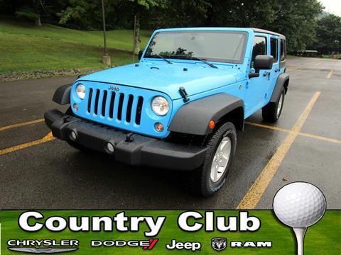 2017 Jeep Wrangler Unlimited for sale in Clarksburg, WV