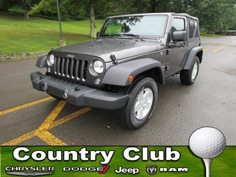 2017 Jeep Wrangler for sale in Clarksburg, WV