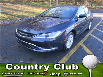 2017 Chrysler 200 for sale in Clarksburg, WV