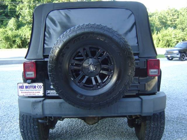2010 Jeep Wrangler Unlimited 4x4 Rubicon 4dr SUV - Jacksonville NC