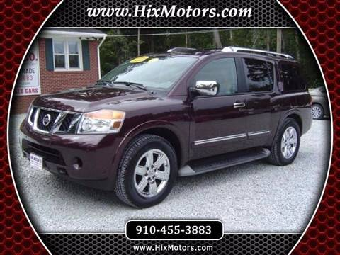 2014 Nissan Armada for sale in Jacksonville, NC
