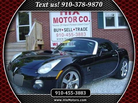 2006 Pontiac Solstice for sale in Jacksonville, NC