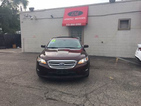 2012 Ford Taurus for sale in Detroit, MI