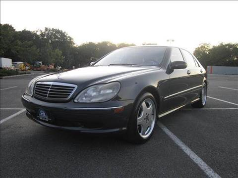2002 Mercedes-Benz S-Class for sale at B&B Auto LLC in Union NJ