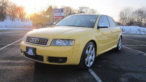 2004 Audi S4 for sale at B&B Auto LLC in Union NJ