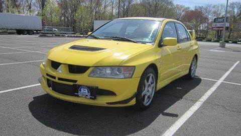 2003 Mitsubishi Lancer Evolution for sale at B&B Auto LLC in Union NJ