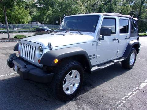 2011 Jeep Wrangler Unlimited for sale in Union, NJ