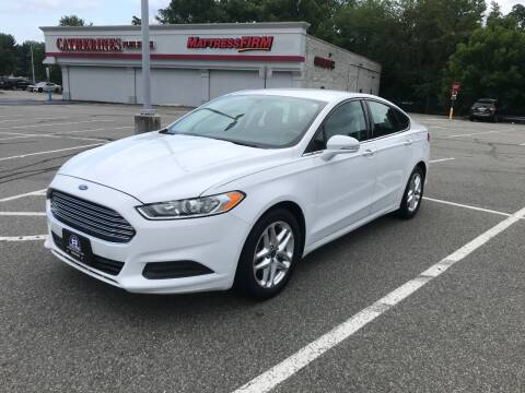 2013 Ford Fusion for sale at B&B Auto LLC in Union NJ