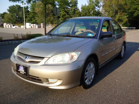 2004 Honda Civic for sale at B&B Auto LLC in Union NJ