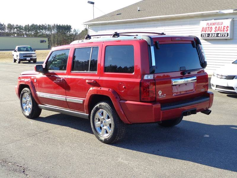 2010 Jeep Commander 4x4 Limited 4dr SUV - Plainfield WI