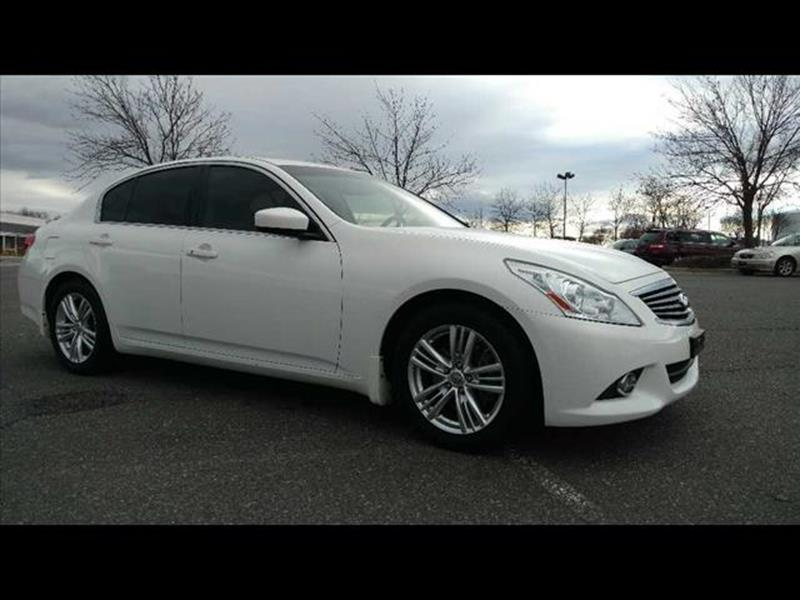 2012 Infiniti G25 Sedan Journey 4dr Sedan - Disputanta VA