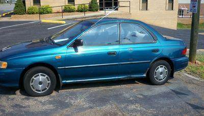 1995 Subaru Impreza for sale at granite motor co inc in Hudson NC