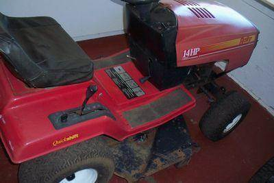 1990 RALLY RIDING MOWER for sale at granite motor co inc in Hudson NC