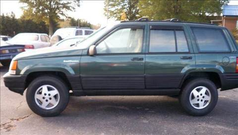 1993 Jeep Grand Cherokee for sale at granite motor co inc in Hudson NC