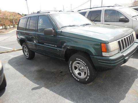 1998 Jeep Grand Cherokee for sale at Granite Motor Co 2 in Hickory NC