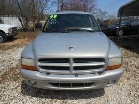 1999 Dodge Durango for sale at Granite Motor Co 2 in Hickory NC