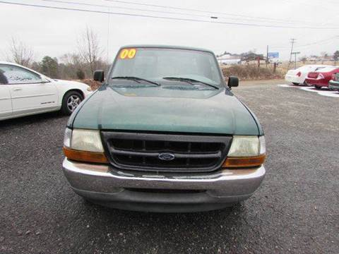 2000 Ford Ranger for sale at Granite Motor Co 2 in Hickory NC
